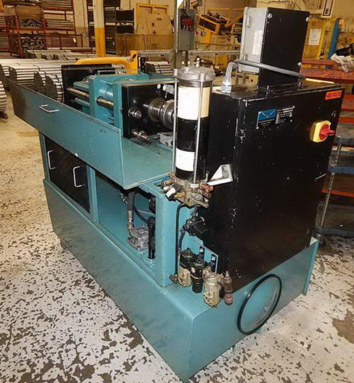 Used EAGLE SINGLE END TUBE FORMING MACHINE , Model SP10  I/O, , Stock No. 10519