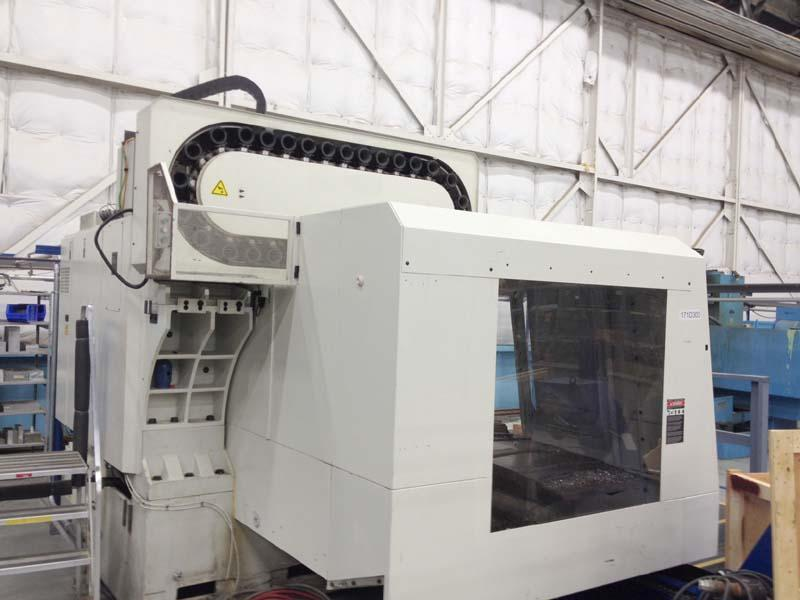 "Fadal VMC6535-50 Taper, Siemens 840D CNC Control, X=65"", Y=35"", Z=34"", Cat-50, 7500 RPM, 32 Station Tool Changer, New 2005."