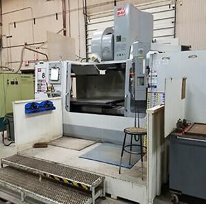 HAAS MODEL VF8 CAT-50 CNC VERTICAL MACHINING CENTER: STOCK #14162