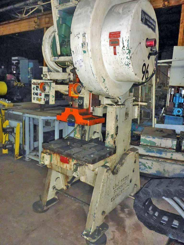 45 Ton L & J OBI Flywheel Press
