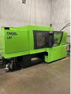 Engel Used Victory 200/100Tech US LSR Molding Machine, 100 US ton, Yr. 2015, 3.35 oz.