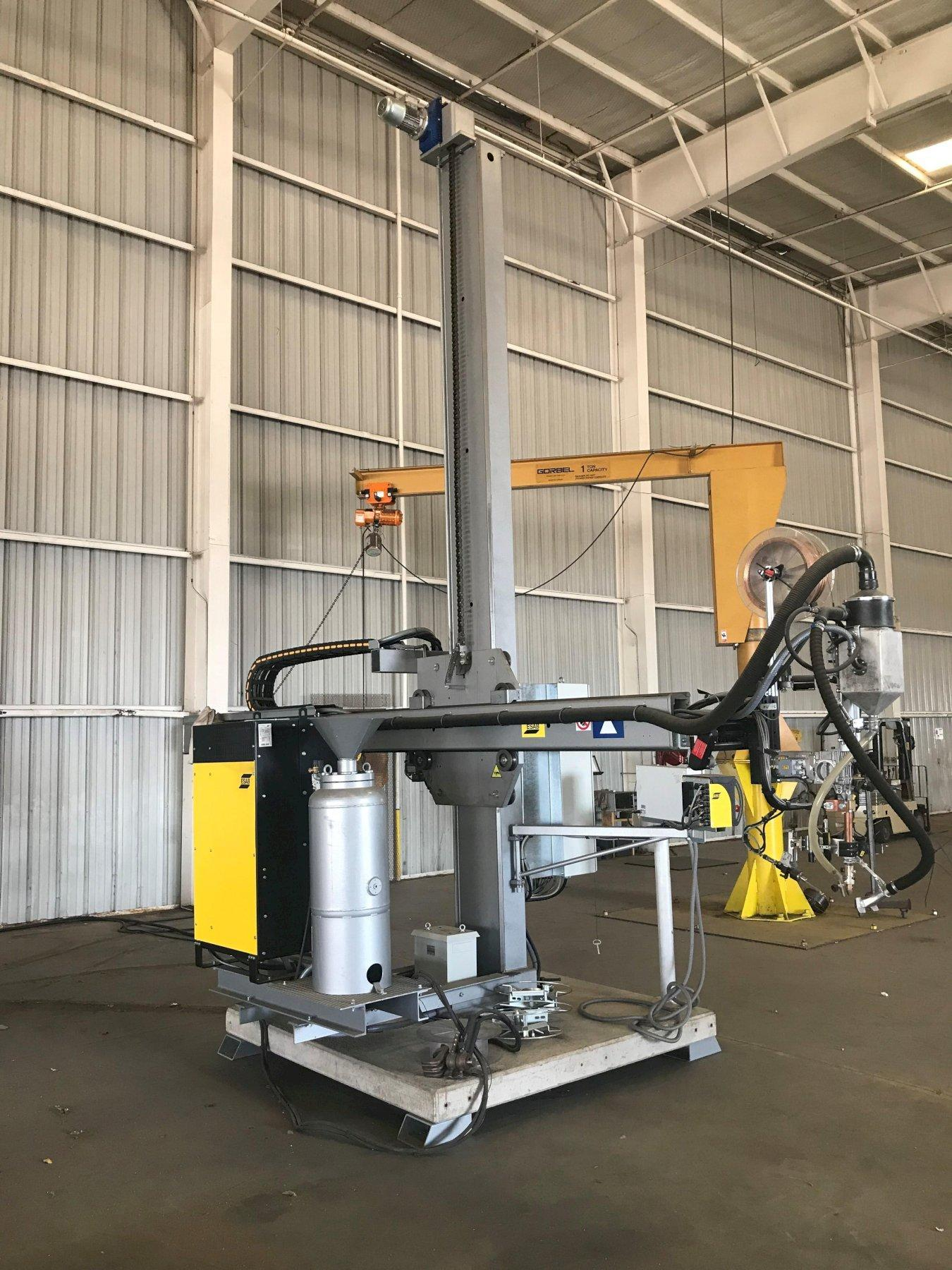 Esab CaB 300M Column & Book Welding Manipulator, New 2019