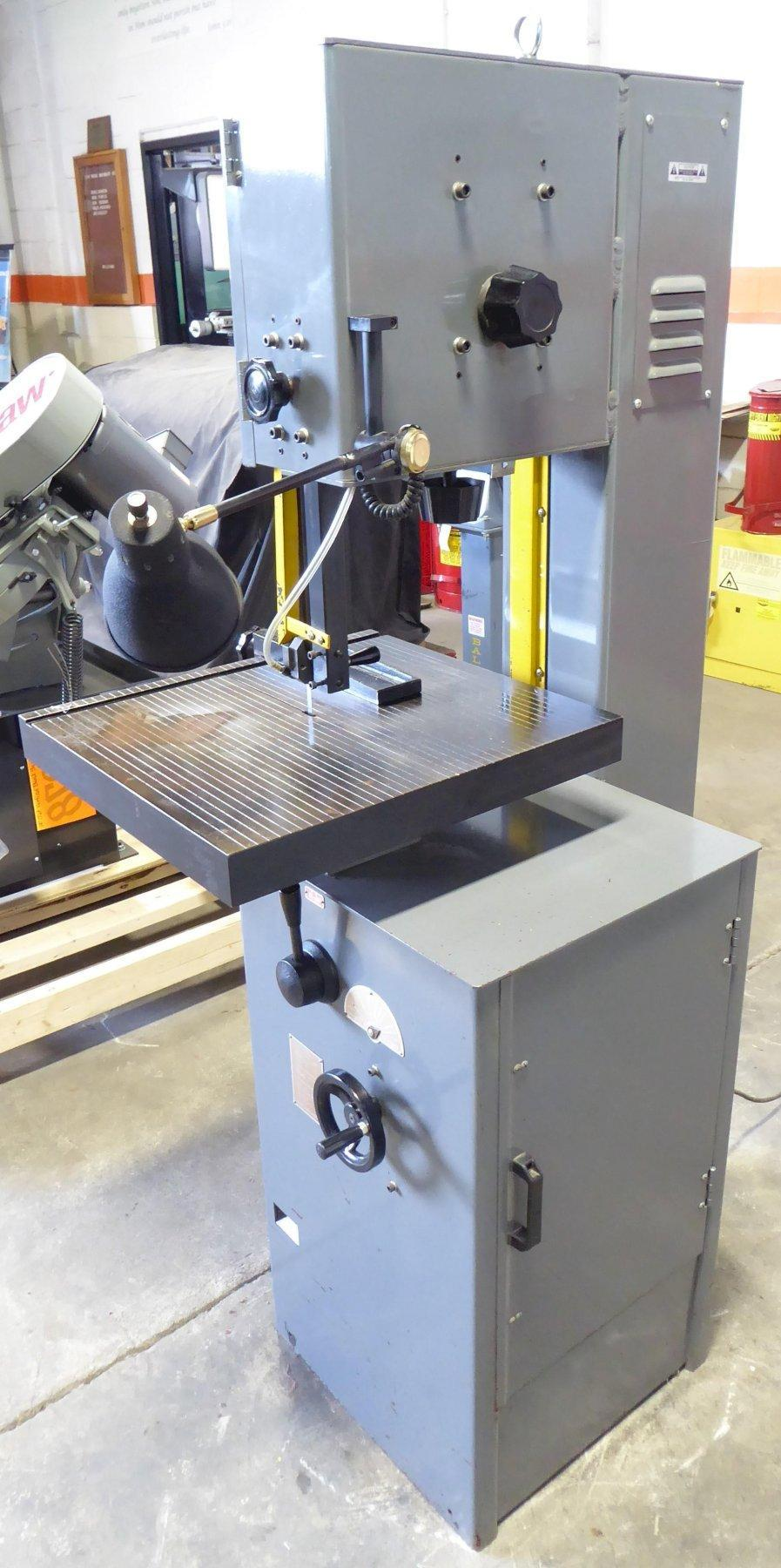 """14"""" Jet Vertical Band Saw VBS-14, 7"""" Under Guide, 1 HP, 1 Phase, Nice"""