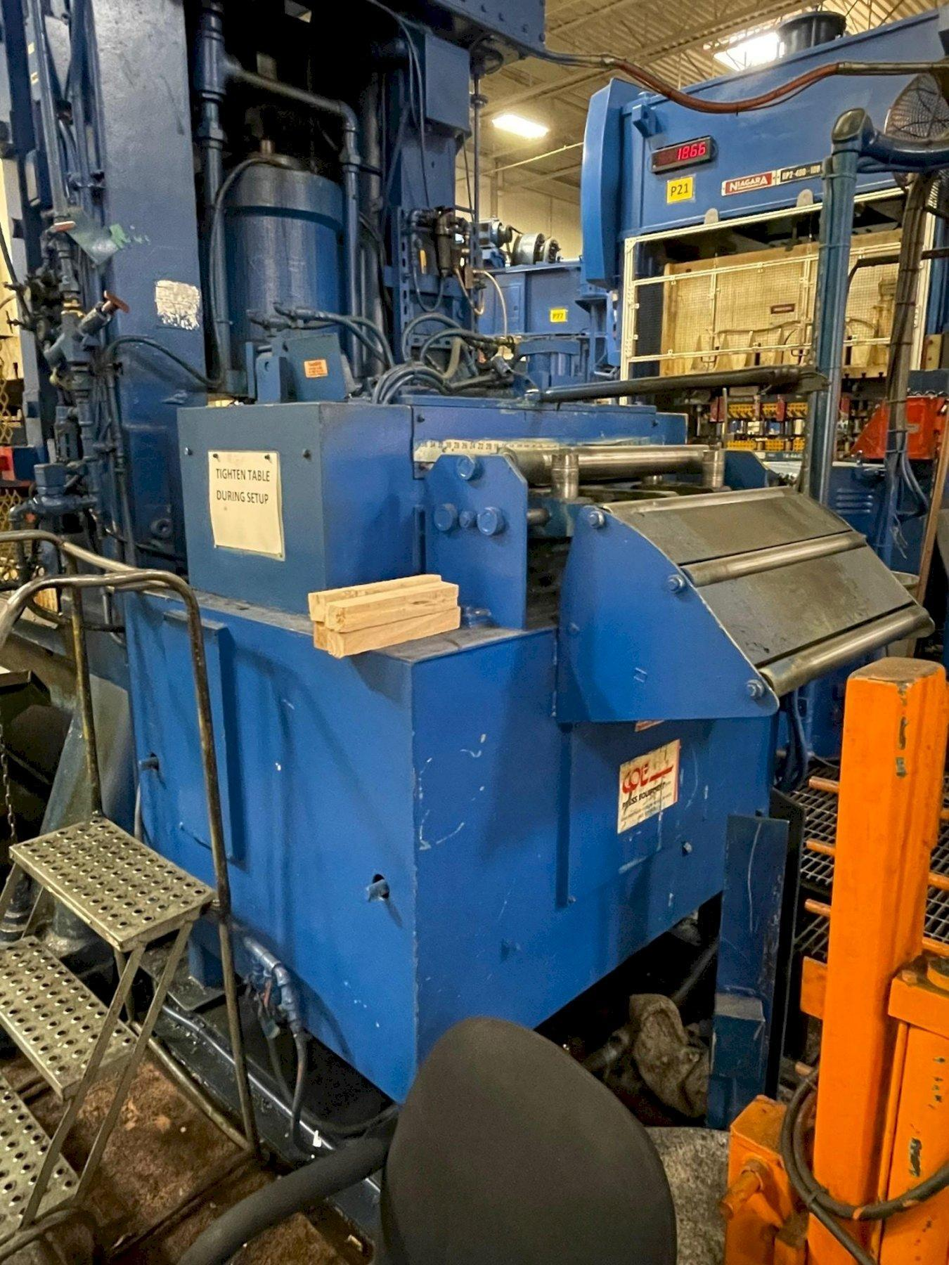 "20,000 lbs x 30"" Coe Press Servo Coil Feed Line"