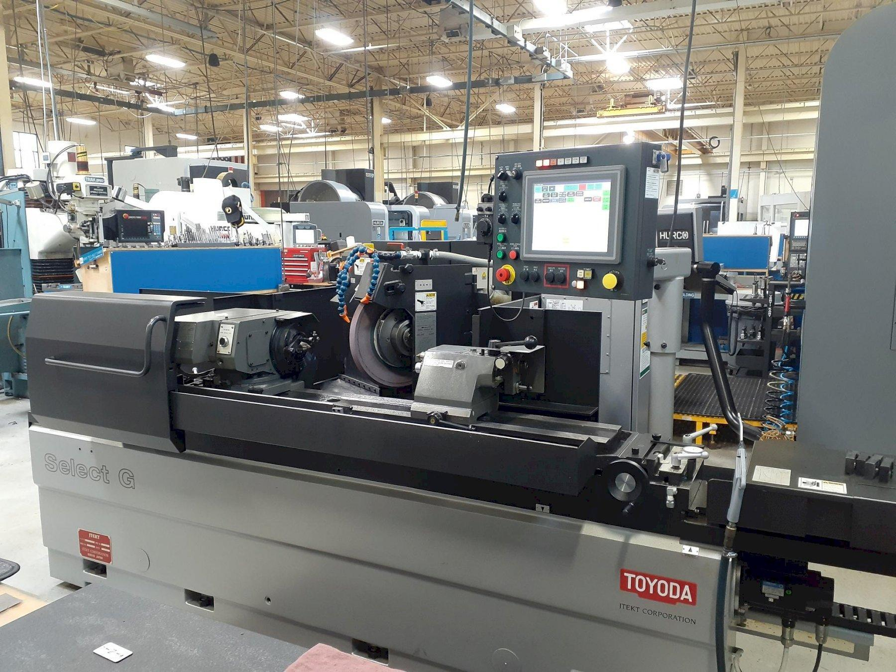 Toyoda Select G-100II CNC Cylindrical Grinder, 12.6