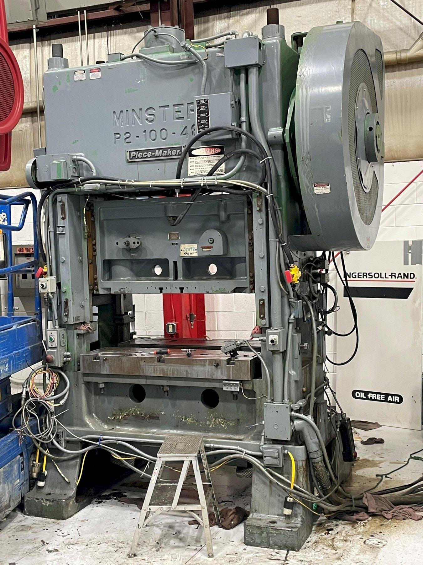 100 ton Minster P2-100-48 Piece-Maker SSDC Press