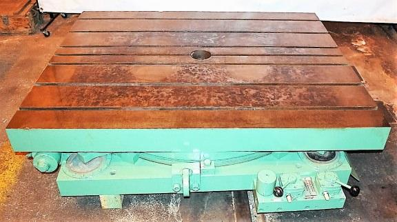 "48"" x 60"" Giddings & Lewis Hydrostatic Rotary Table