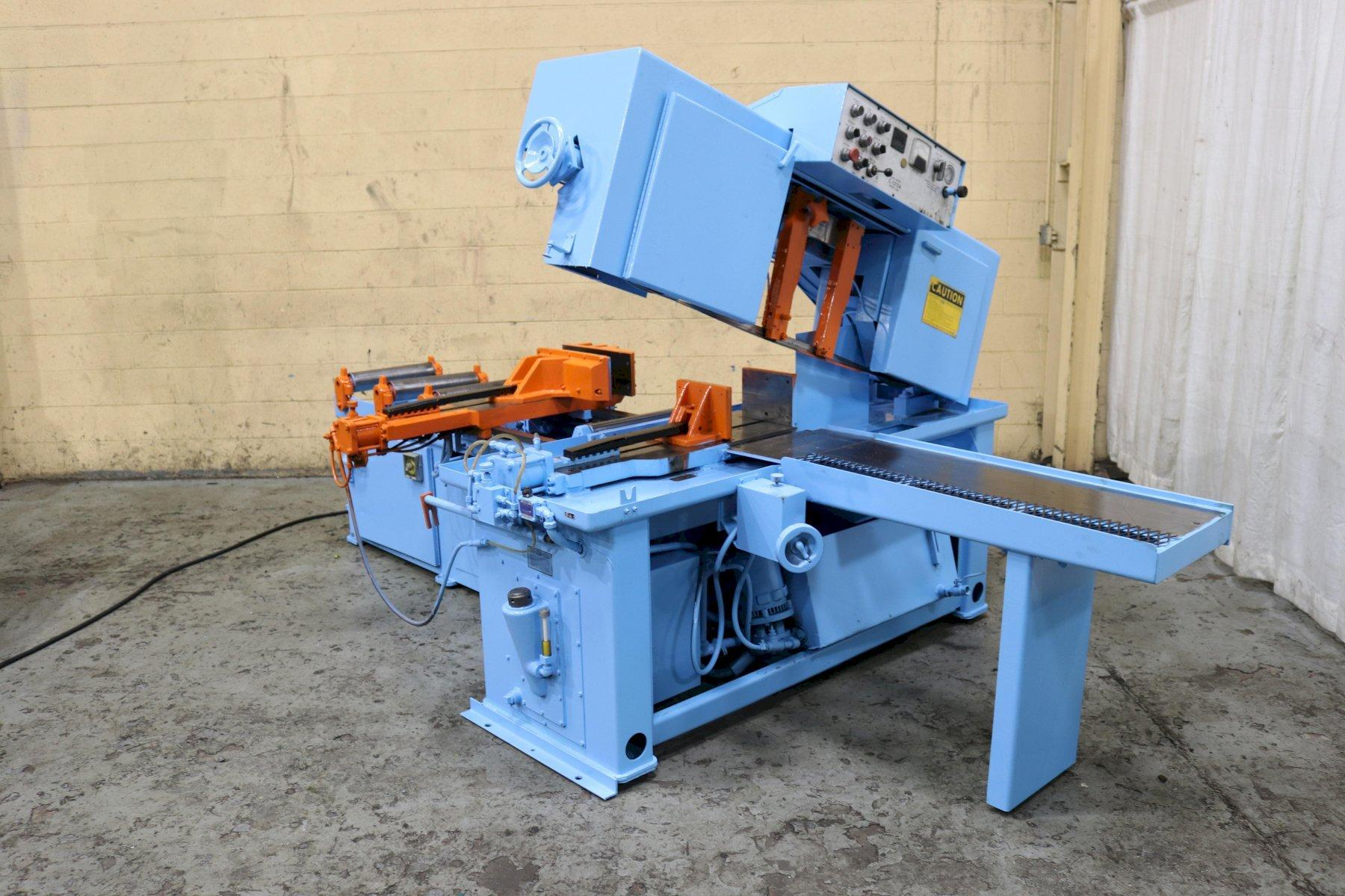 12' X 12' DOALL MODEL #C1212A HORIZONTAL BANDSAW: STOCK #72377