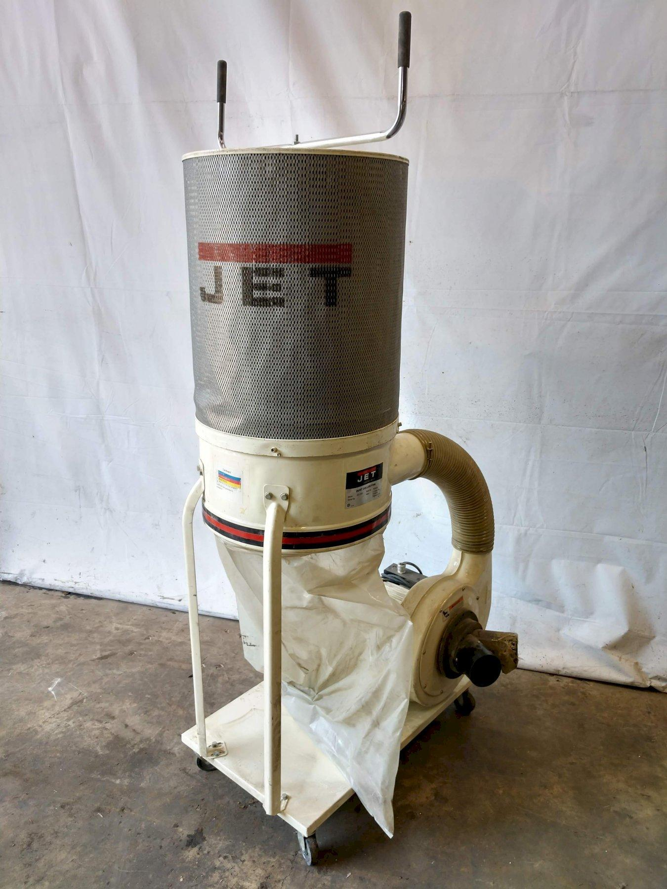 JET MODEL DC-11000 PORTABLE DUST COLLECTOR: STOCK #13018
