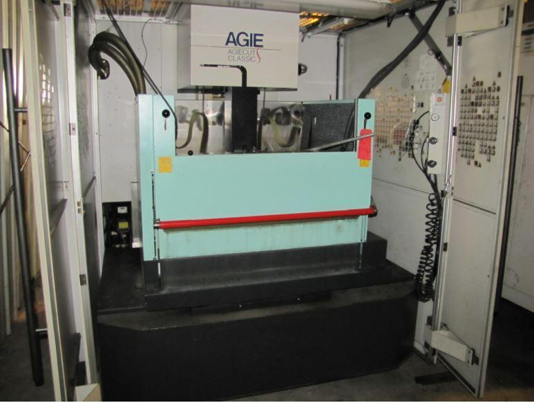 2005 AGIE MODEL #CLASSIC 3S 4-AXIS WIRE EDM MACHINE: STOCK #13487