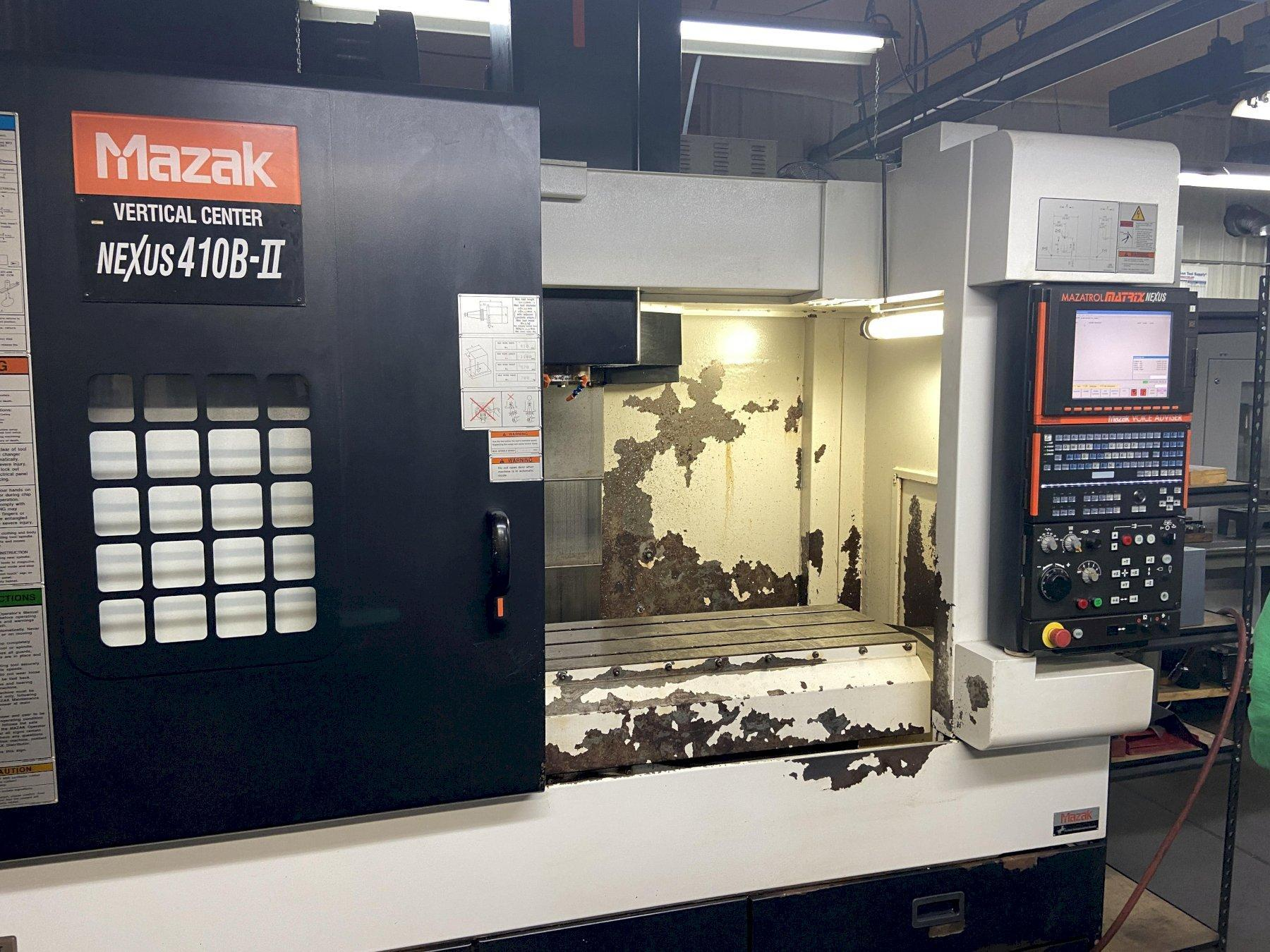 Mazak VCN410B-II CNC Vertical Machining Center, Nexus Control, 30