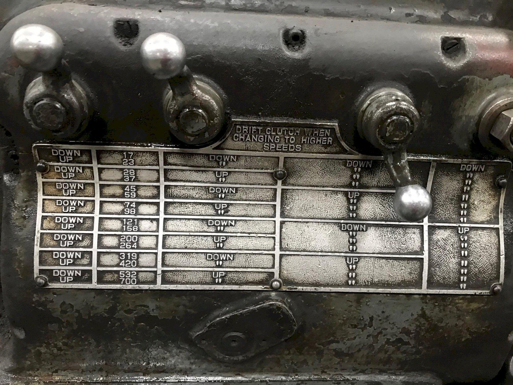 "16"" x 30 ""MONARCH GEARED HEAD ENGINE LATHE, STOCK # 65304"