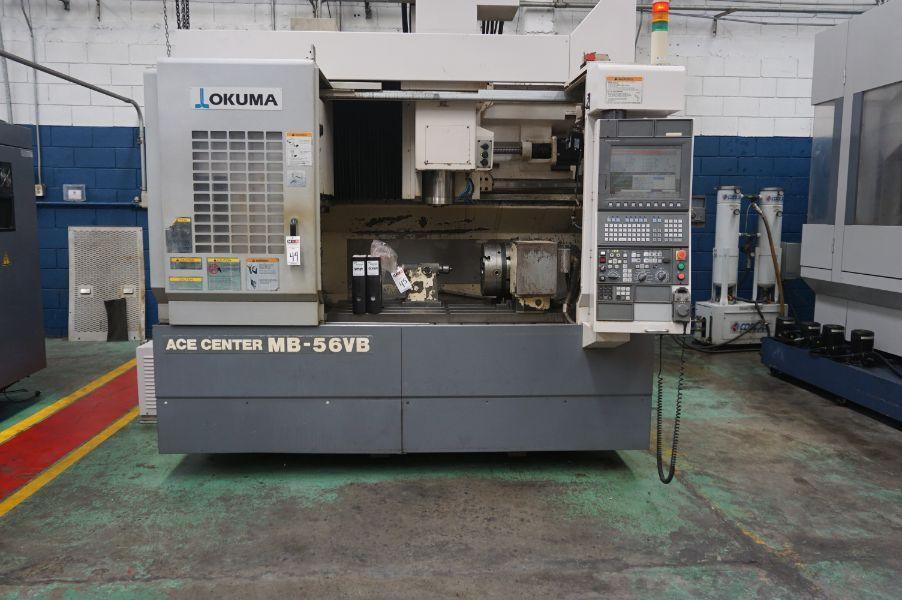 Okuma MB 56 VB 4-Achsen-Vertikal Bearbeitungszentrum