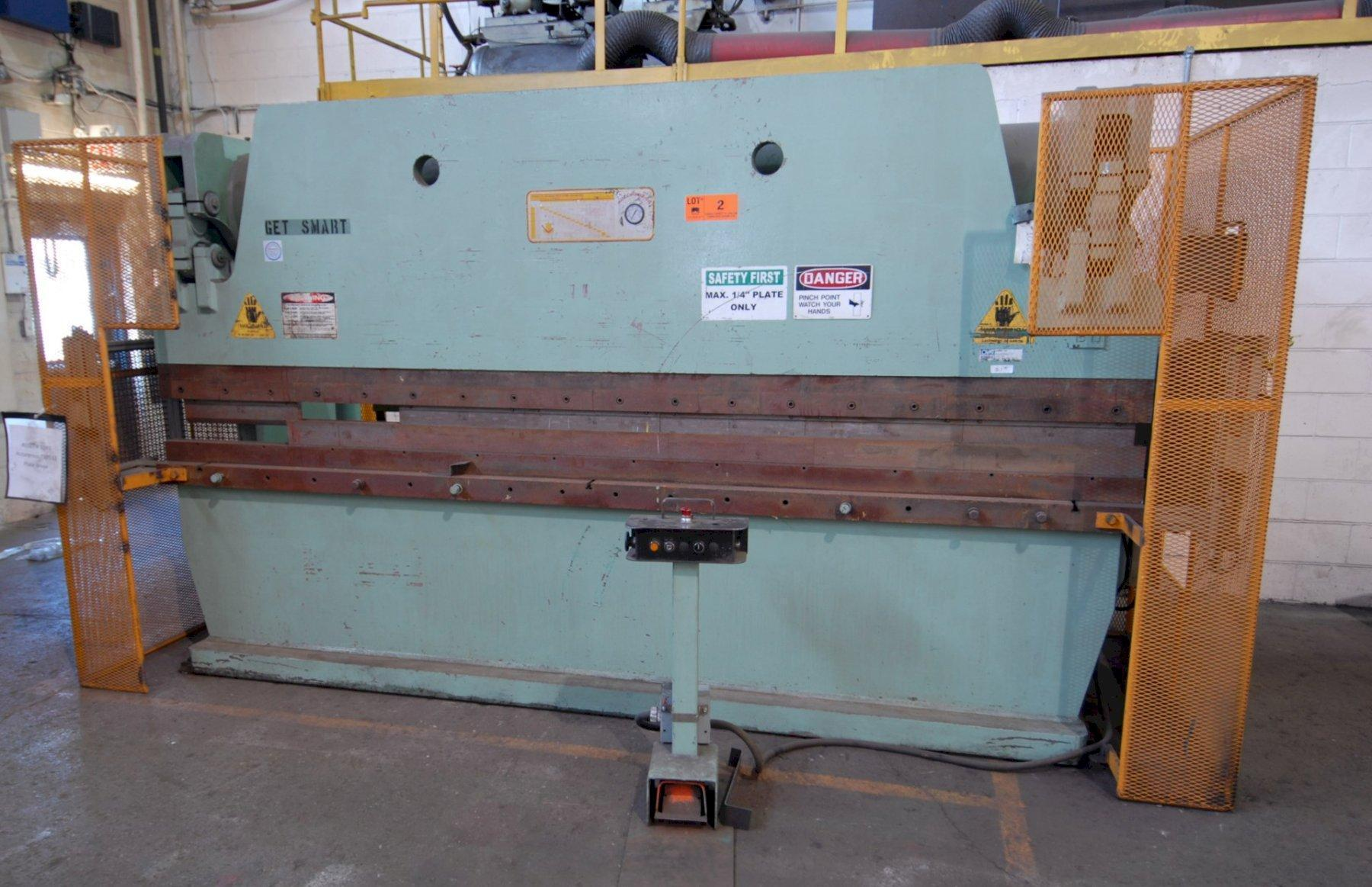 175 Ton x 12' Accurpress Model 717512 Hydraulic Press Brake