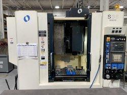 Makino S56 CNC Vertical Machining Center, Fanuc Pro 3, 20K Spindle, CT40, 20 ATC, 35