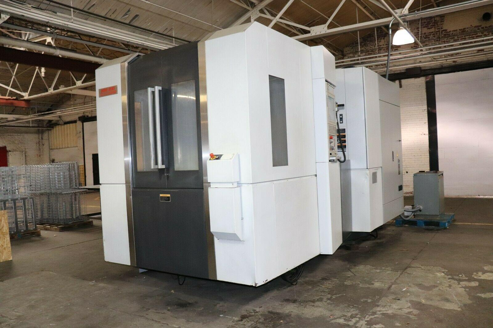 Mori Seiki NH6300dcg II Horiztonal Machining Center