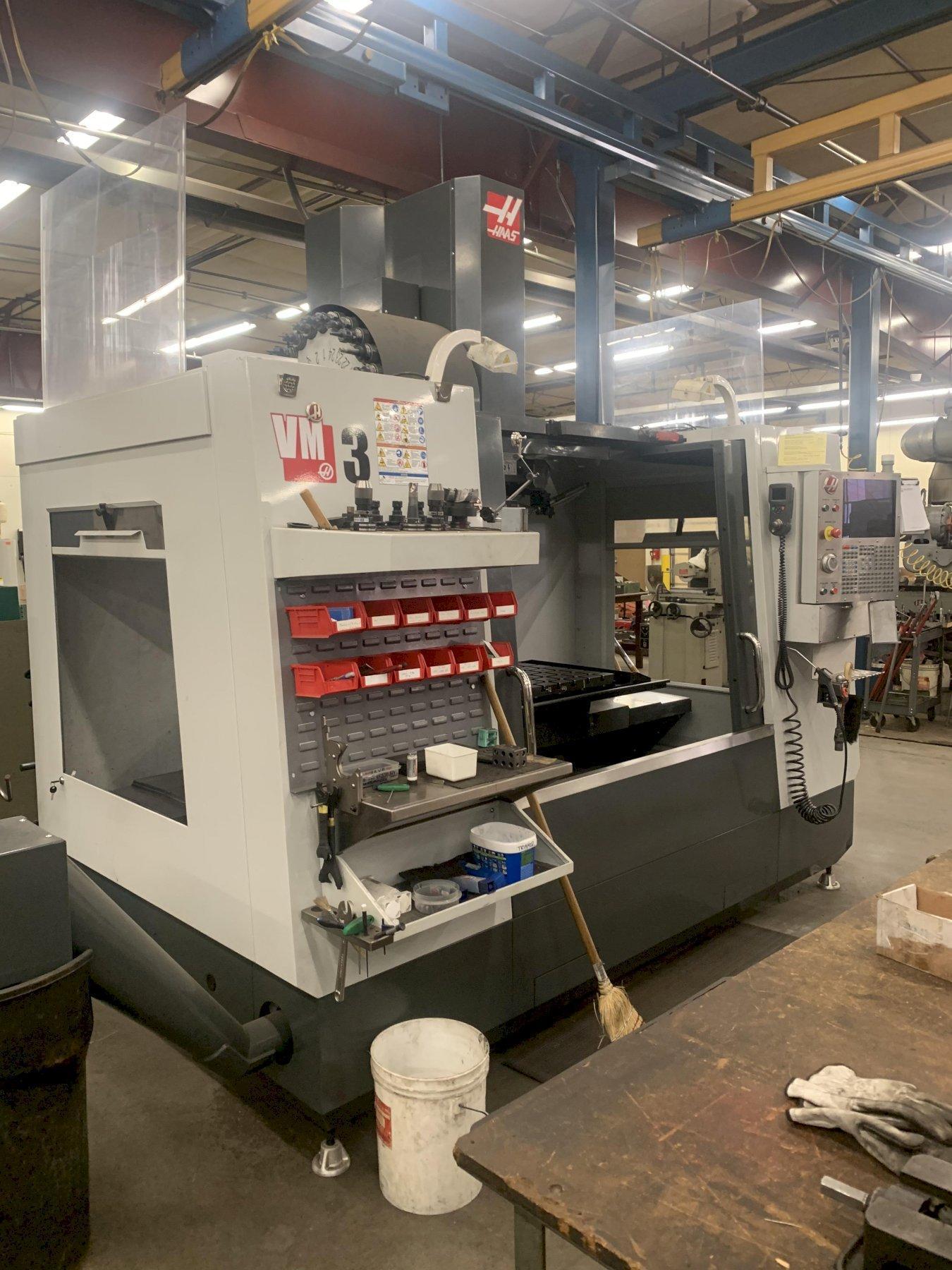 HAAS VM3 VERTICAL MACHINING CENTER, NEW 2013: STOCK #12960