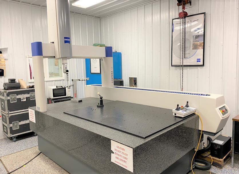 ZEISSContura G2 10/21/6 DCC Coordinate Measuring Machine (CMM)(#33273)
