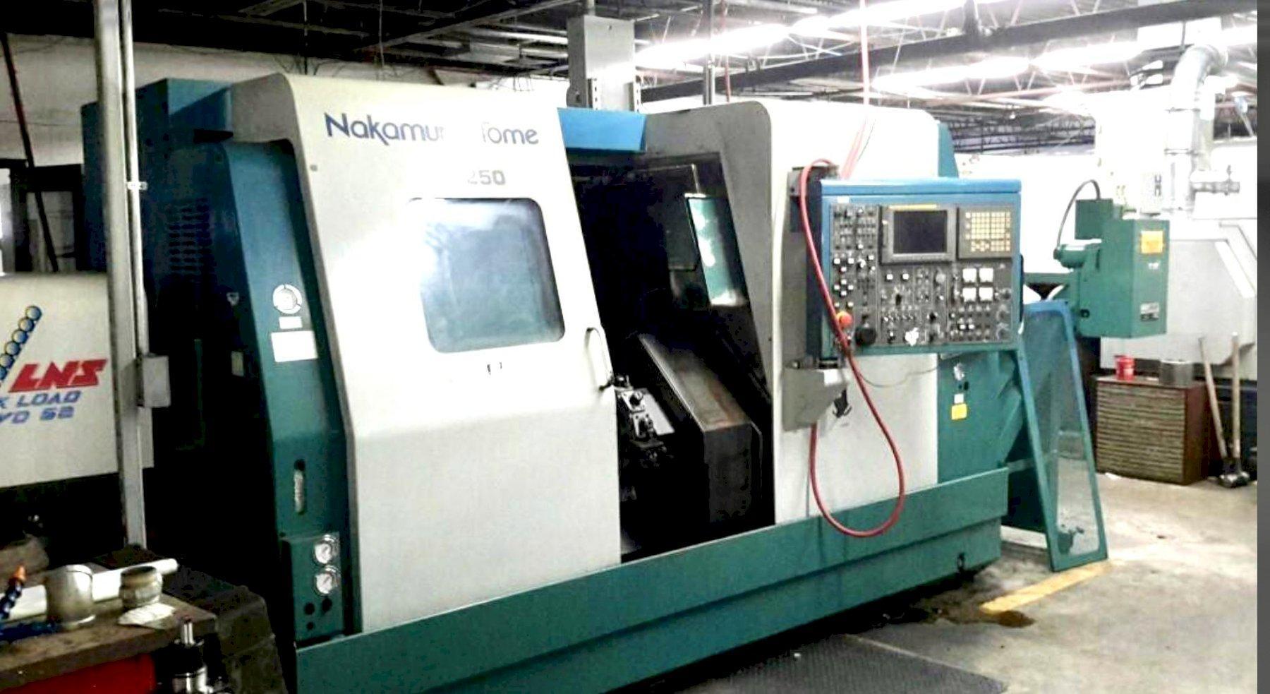 2000 NAKAMURA-TOME WT-250 - CNC Horizontal Lathe