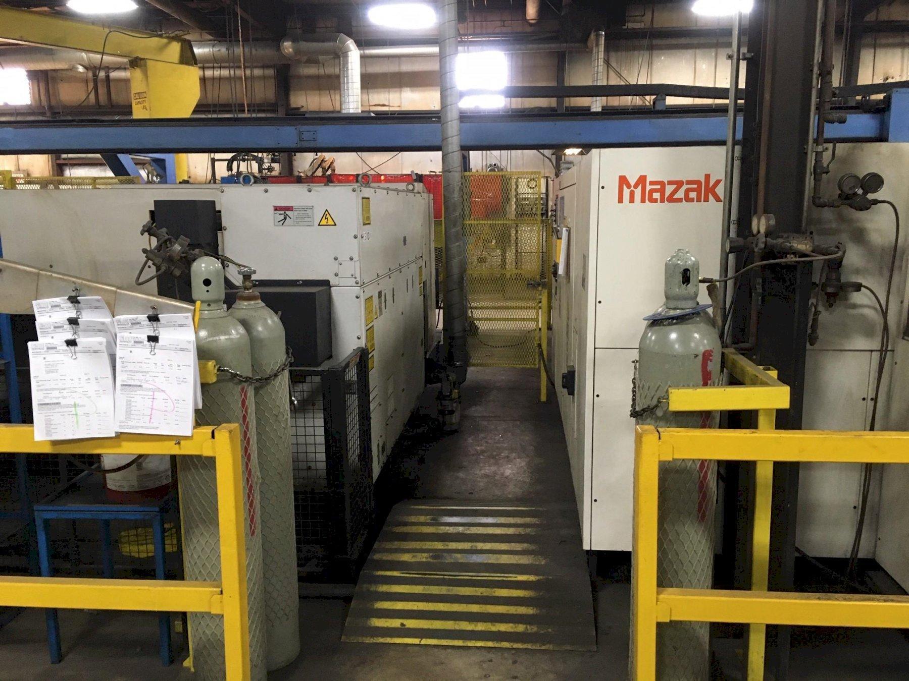 2007 Mazak STX510 Mark-II, 5x10, 2500 Watt Co2 CNC Laser