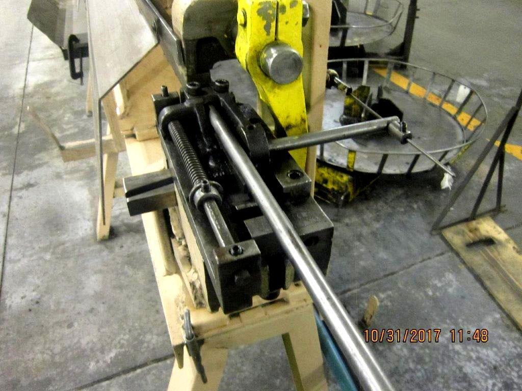 "3/8"" Lewis 3SV8 Straighten & Cut Machine"