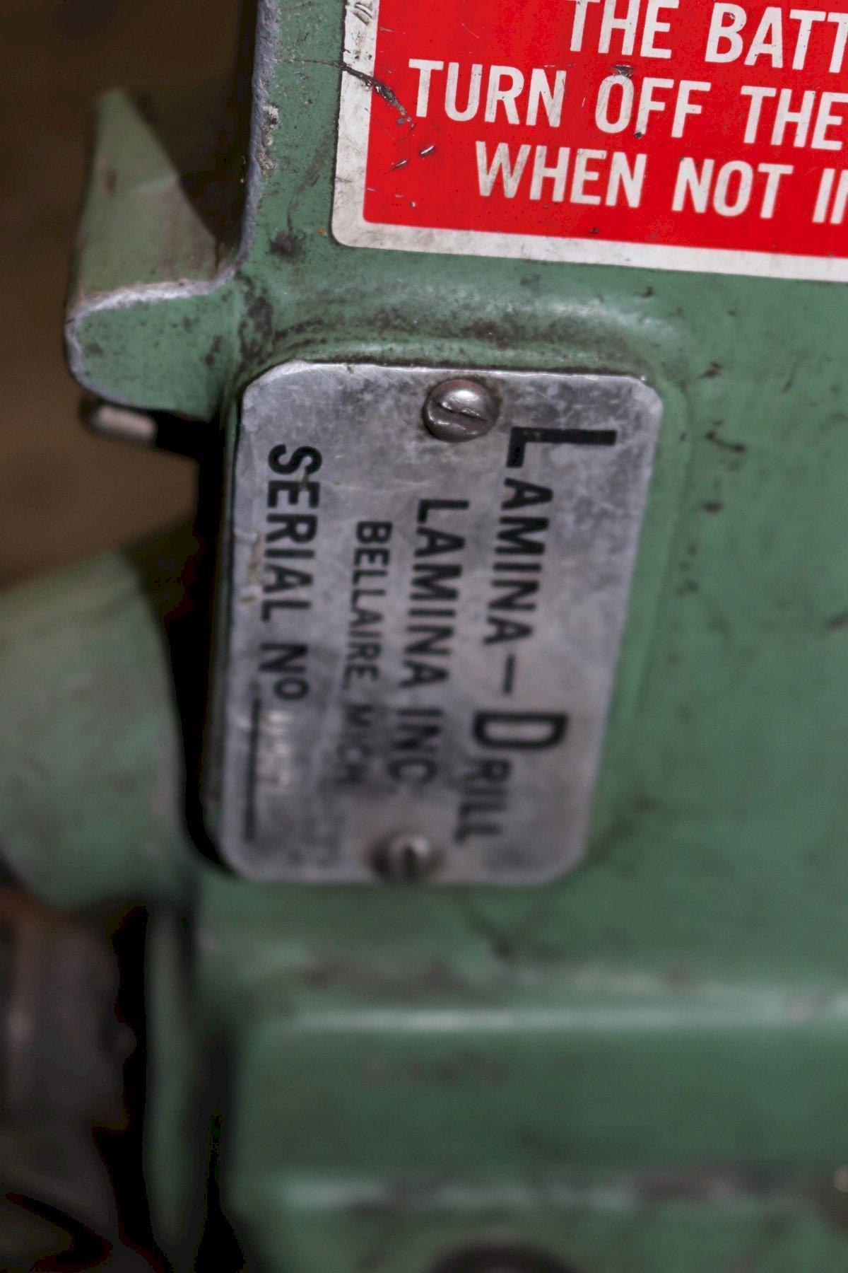 LAMINA DRILL HEAD: STOCK #72944