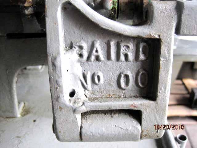 Baird #00 Fourslide