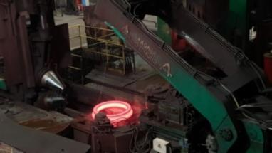 SMS Thyssen Wagner Ring Rolling Machine