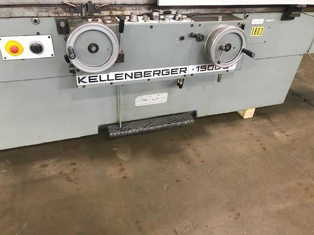 "19.5"" x 60"" KELLENBERGER, Model 1500U, 19.5"" Swing, 65"" Centers, 60"" Grind Length, Universal Swivel Wheelhead and Workhead, ID Spindle, New 1979."