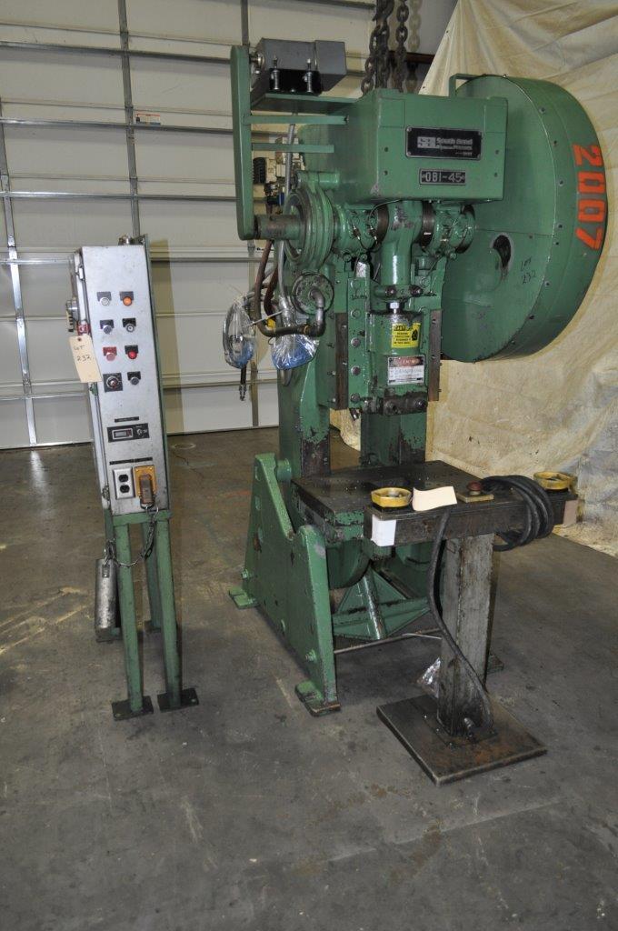 45 Ton Sutherland Johnson OBI Press