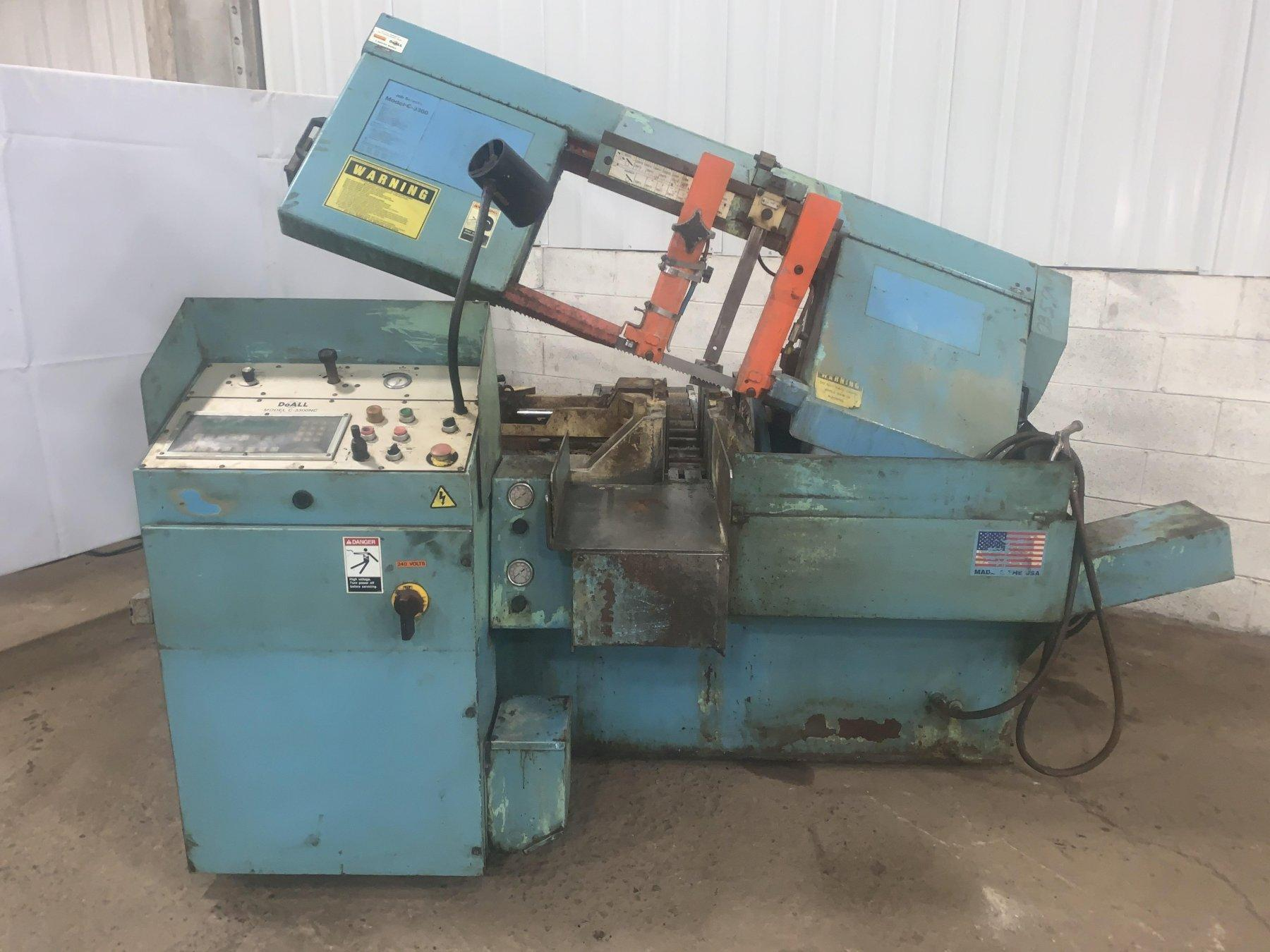 "13"" X 13"" DOALL MODEL #C-3300NC AUTOMATIC HORIZONTAL BAND SAW: STOCK #12450"