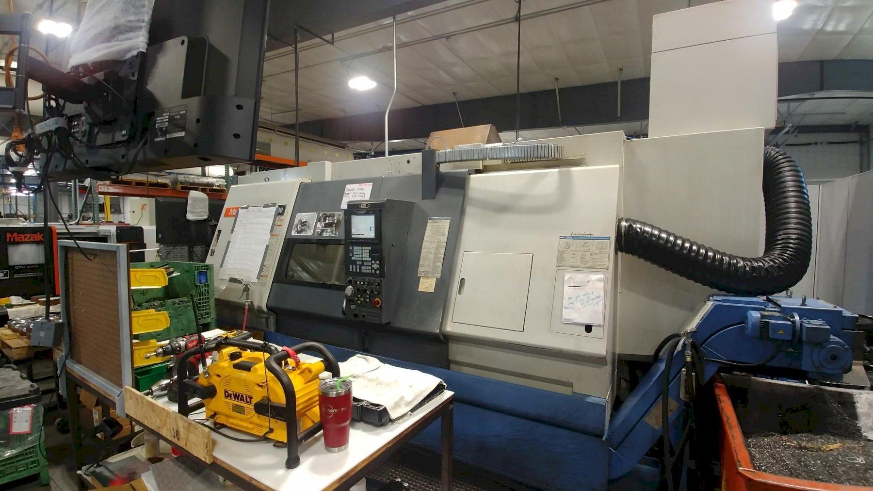 "MAZAKMazak Integrex 30Y/1500 CNC Turning Center; 62"" Length, 20"" Swing, 3"" Bar cap, 10"" Chucks