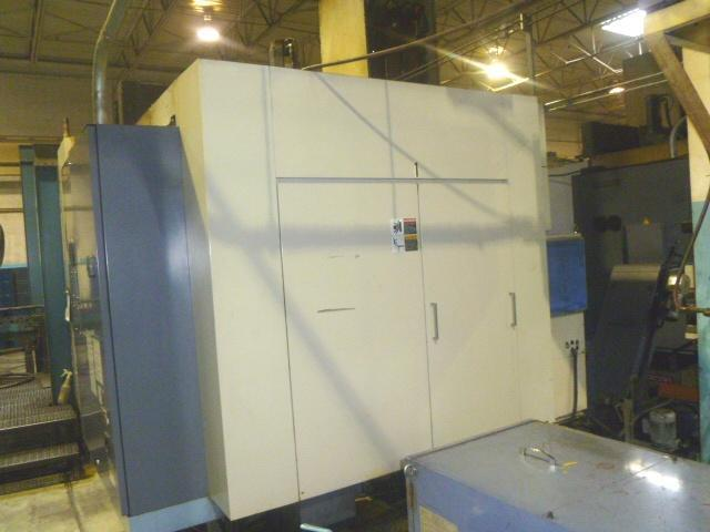 OKK HM-80S HORIZONTAL MACHINING CENTER