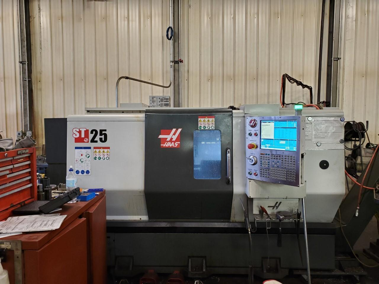 2016 HAAS ST-25 CNC LATHE