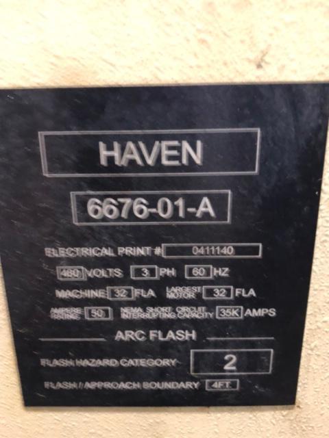 "2"" Haven model 620 Klean Cut Tube Cut Off"