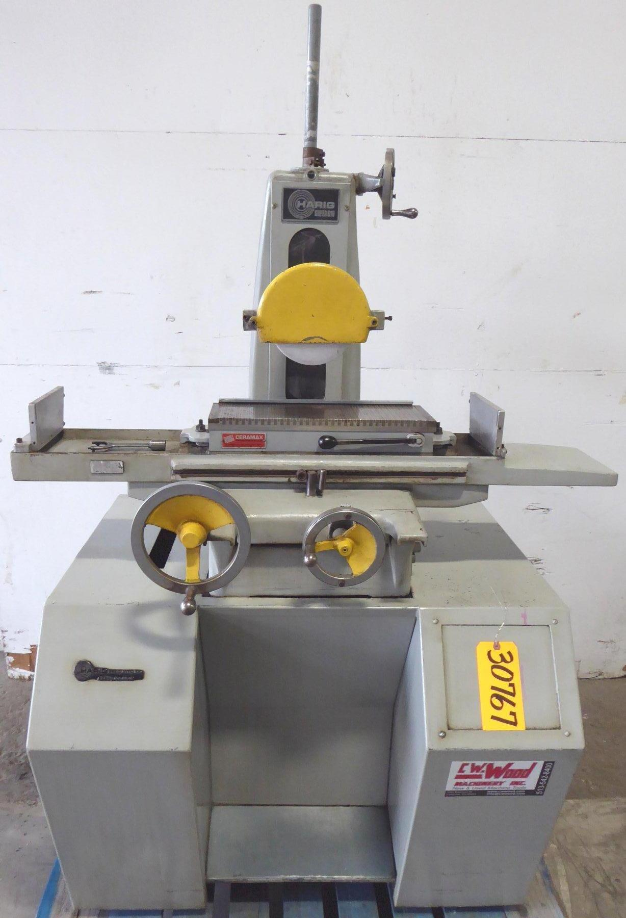 """6"""" x 18"""" HARIG Surface Grinder No. Super 618, Hand, Chuck, 1 HP, Low Price"""
