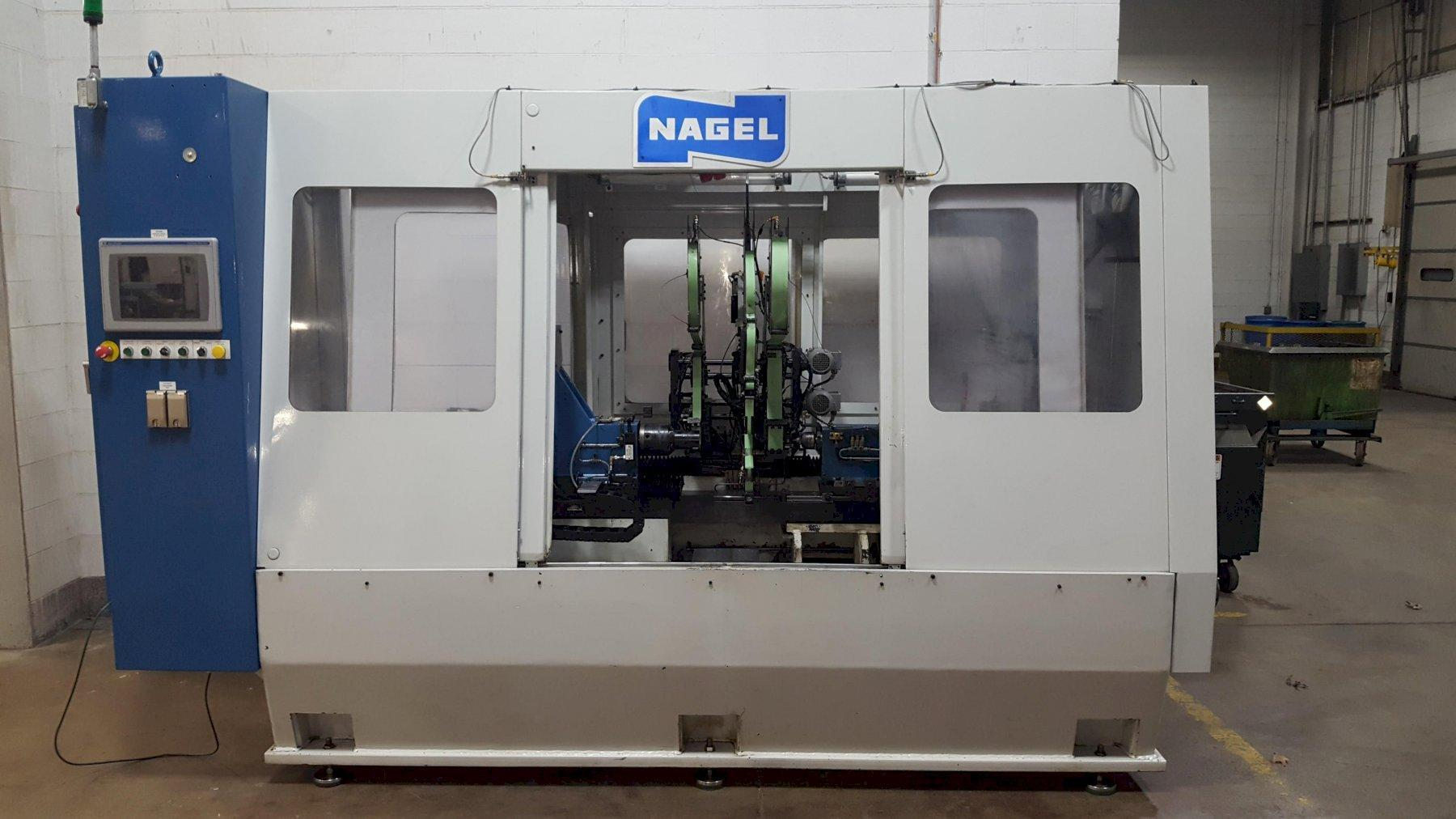 Nagel Model TF4-20 CNC Flexible Crankshaft Lapping/Super Finishing Machine