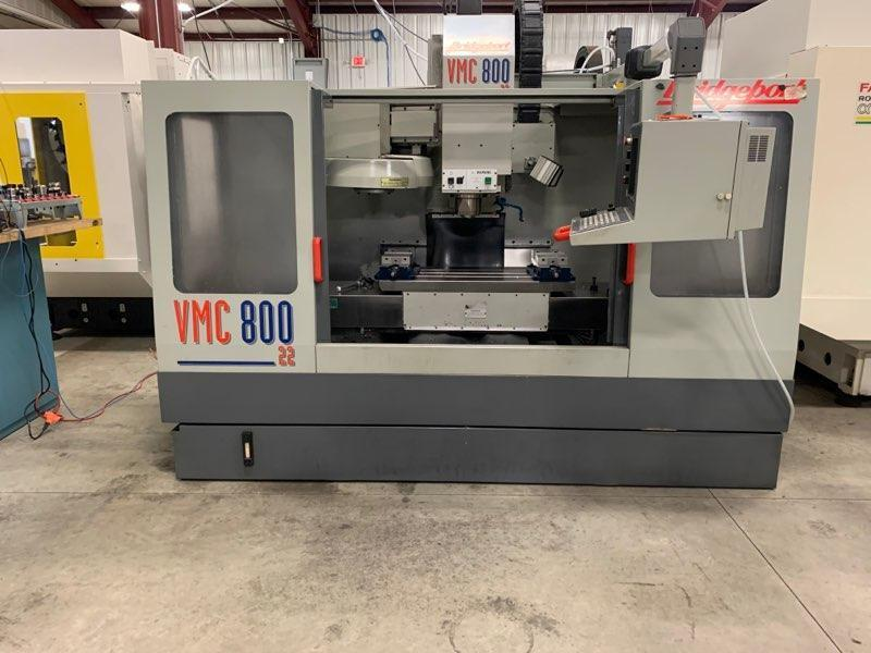 BRIDGEPORT VMC-800 VERTICAL MACHINING CENTER: STOCK #12753