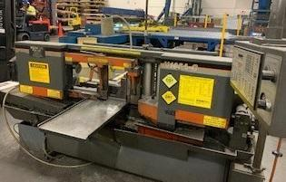 "14"" x 16"" HEM MODEL H105A-C AUTOMATIC HORIZONTAL BAND SAW"