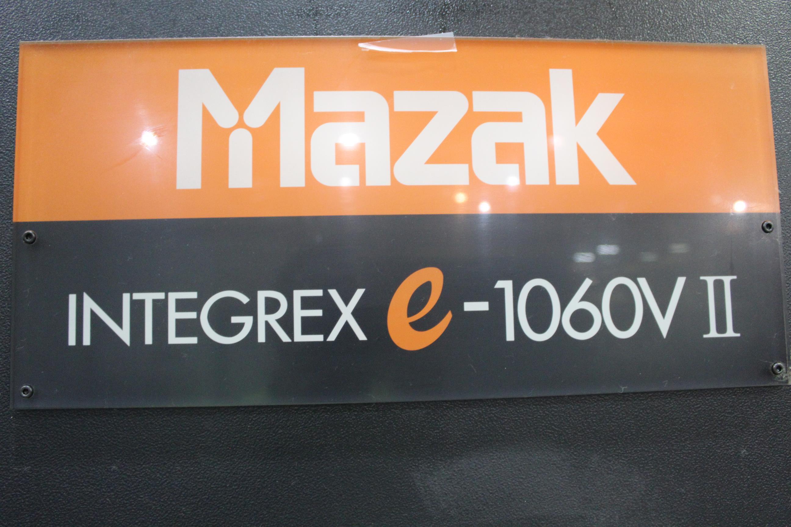 2009 Mazak (3) Integrex e-1060V/8 II with Mazak Palletech