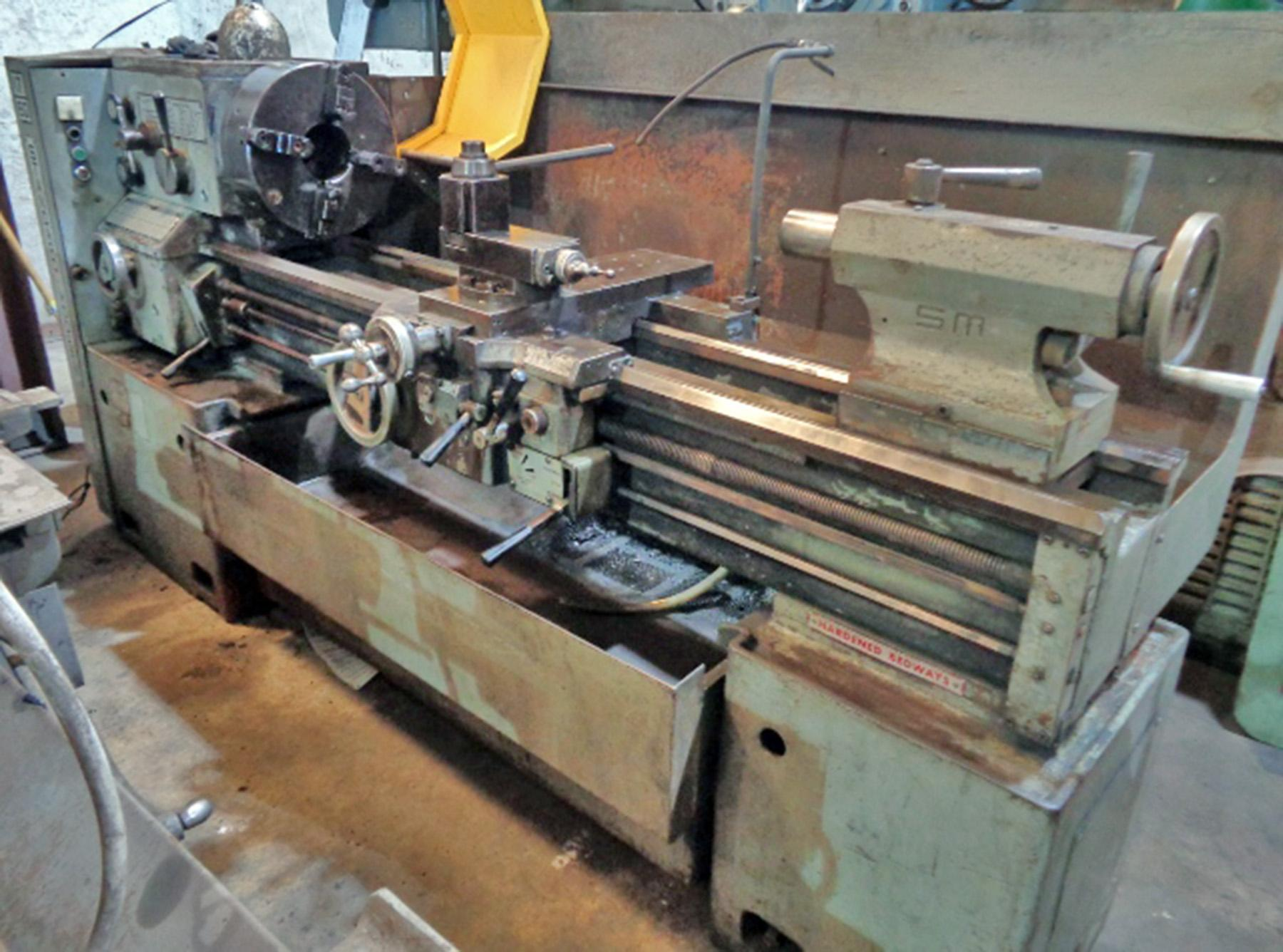 USED, STANDARD MODERN MODEL 17-60 ENGINE LATHE