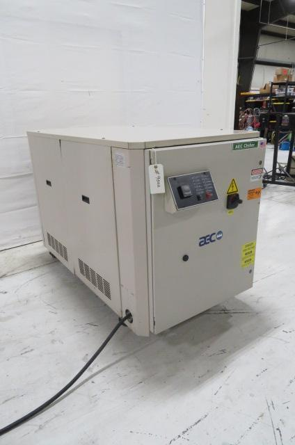 AEC PSW10 Used Portable Water Cooled Chiller, 10 ton, 460V