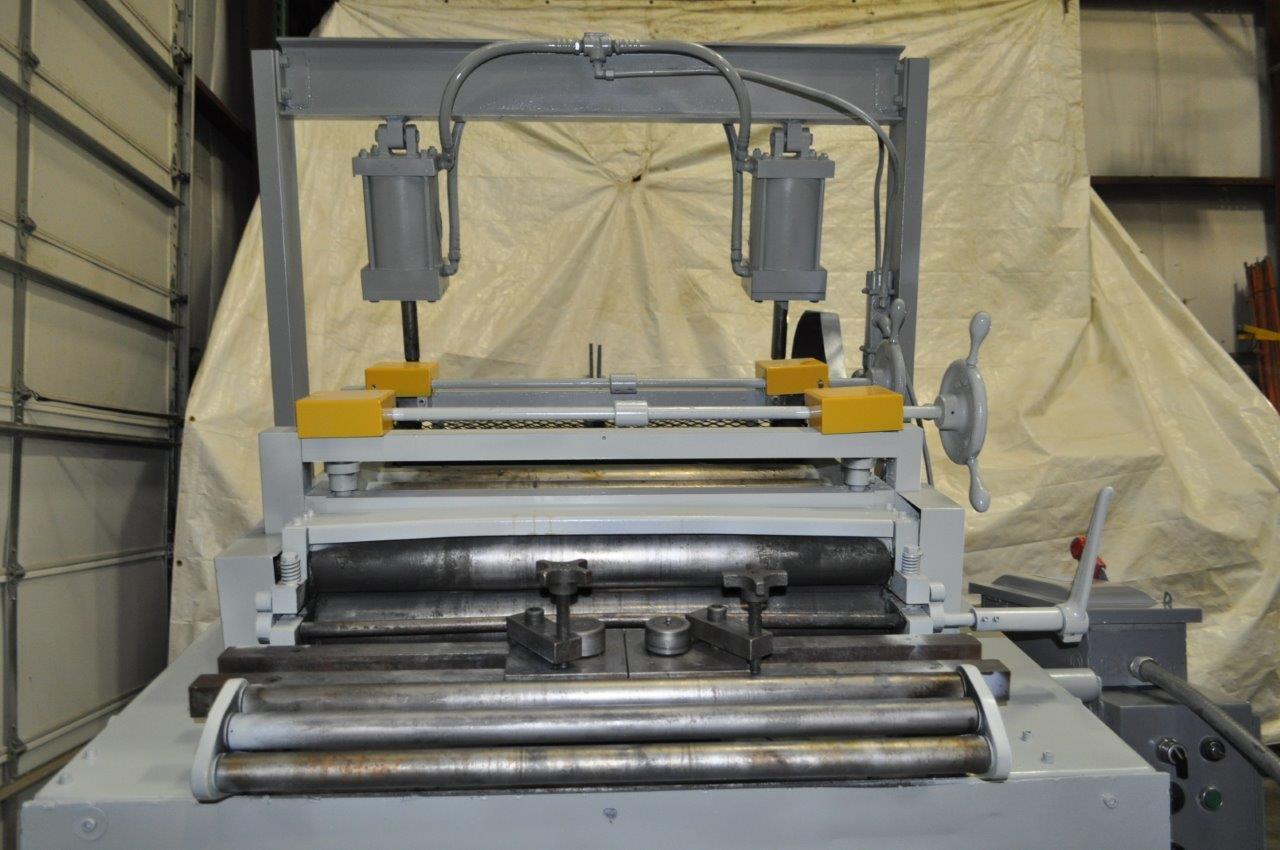 "12,000 LB x 30"" x.150"" Rowe Coil Cradle Straightener"