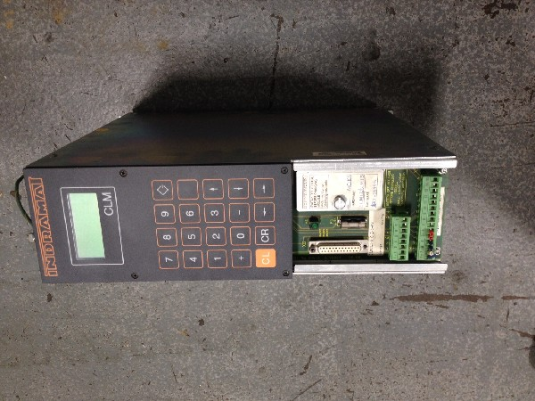 (S) Used Indramat Servo Controller - CLM0.13-X-0-2-0-FW