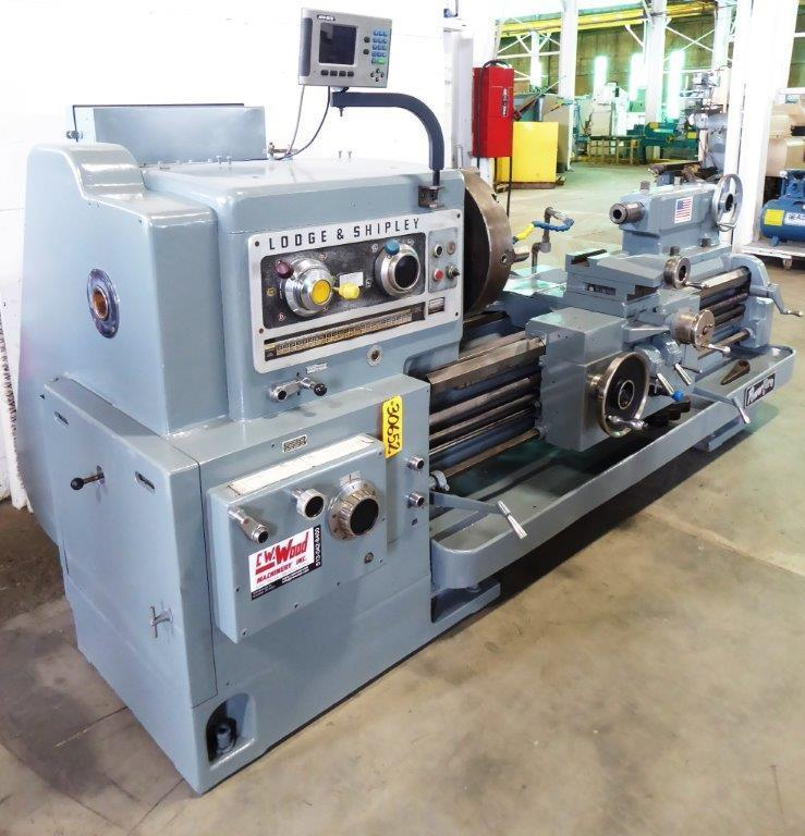 28″ x 48″ Lodge & Shipley Powerturn Engine Lathe, 18-1000 RPM, 30 HP