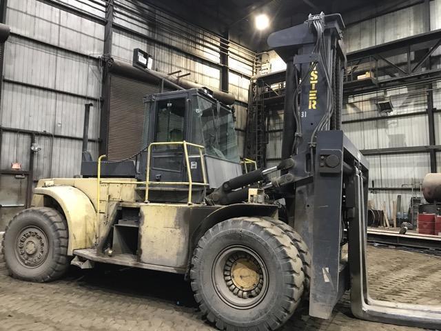 62,000# Hyster Model H620 Diesel Forklift