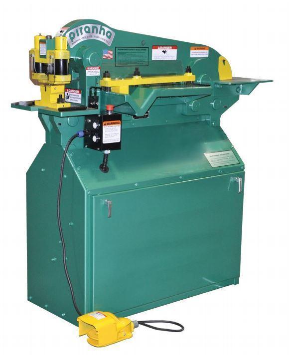 (1) NEW PIRANHA HYDRAULIC IRONWORKER, MODEL P50