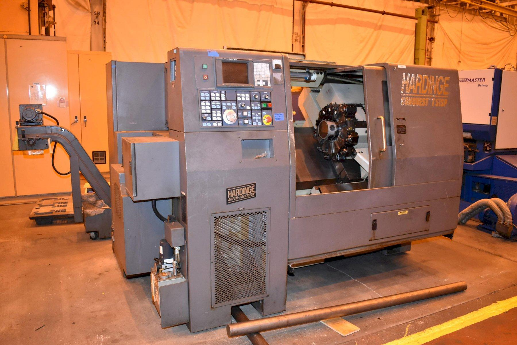 Hardinge Conquest T51SP CNC Turning Center with Milling