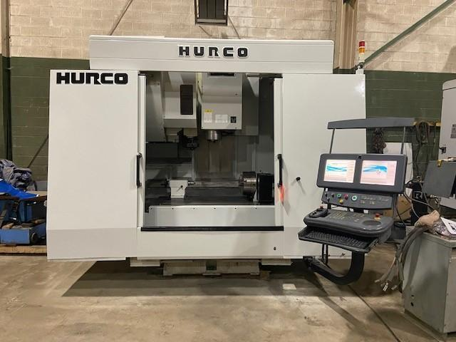 """Hurco VMX50/50 CNC Vertical Machining Center, WinMax Control, 50""""/26""""/24"""" Travels, 50 Taper, 8K, 30 ATC, 12"""" Rotary Table w/TS, Many Control Options, Low Hours, 2012"""