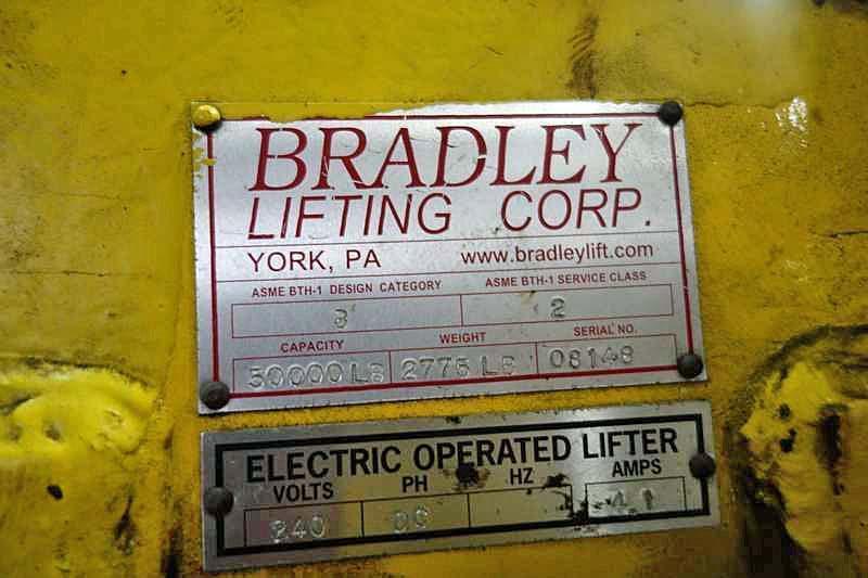 "50,000# x 48"" Bradley Coil Grab"